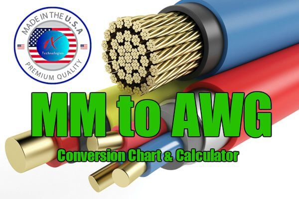 Mm To Awg Wire Size Conversion Chart