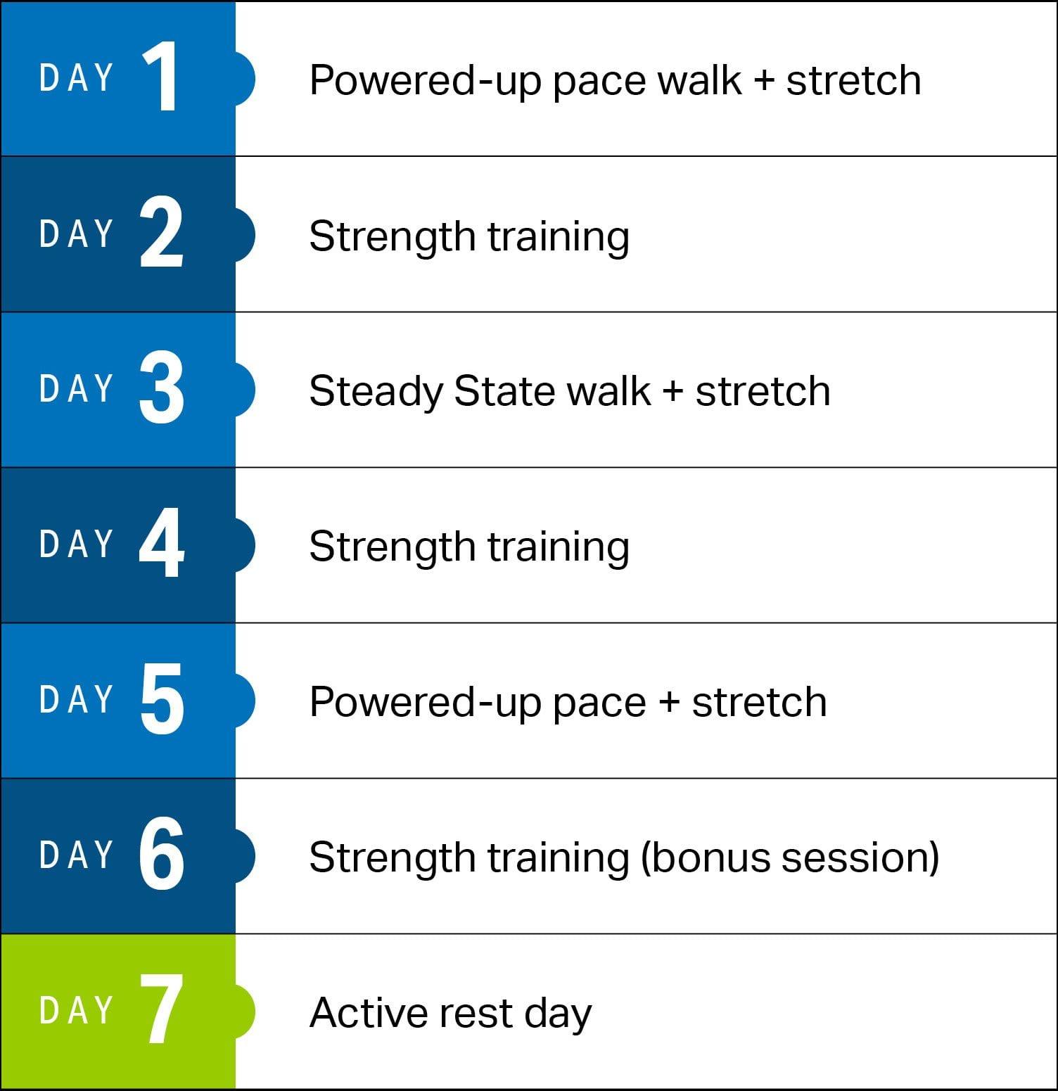 4 Week Power Walking Plan For Weight Loss