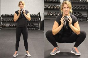 hip-stretches-goblet-squat-580x383