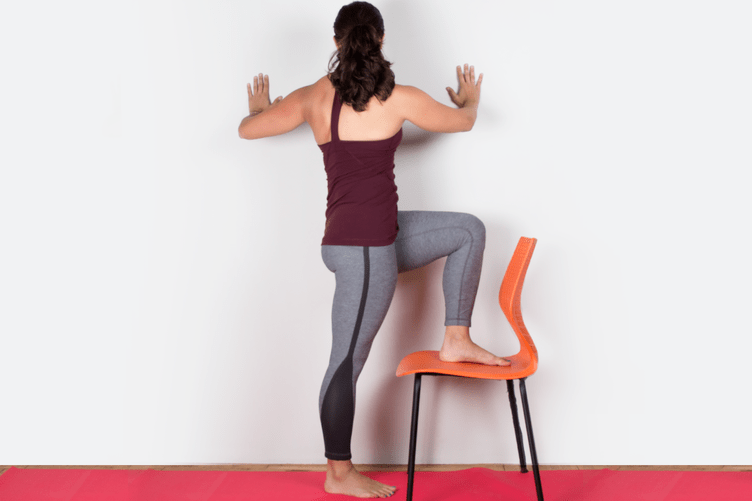 Yoga Wall Twist