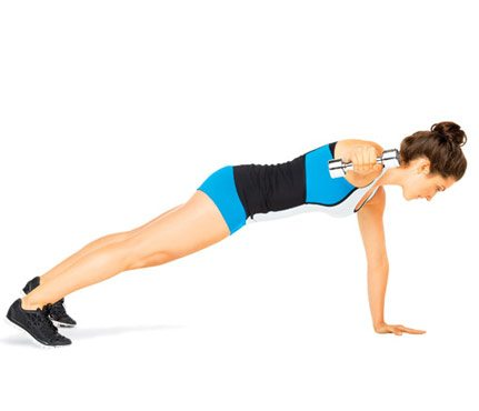 on the side plank
