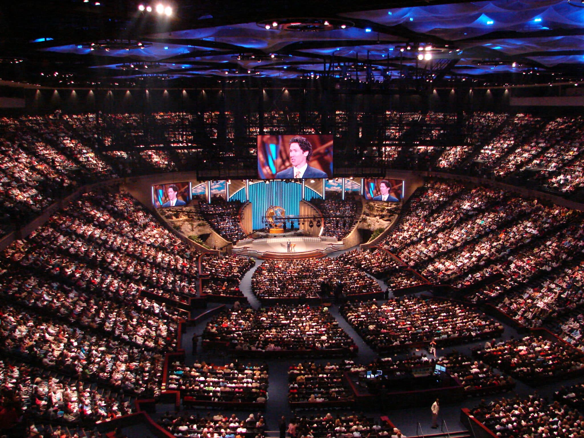 Image result for images of megachurch service