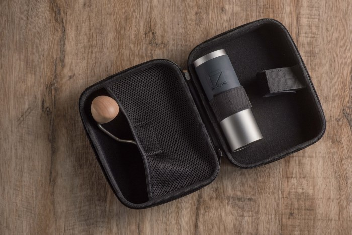travel case with JX