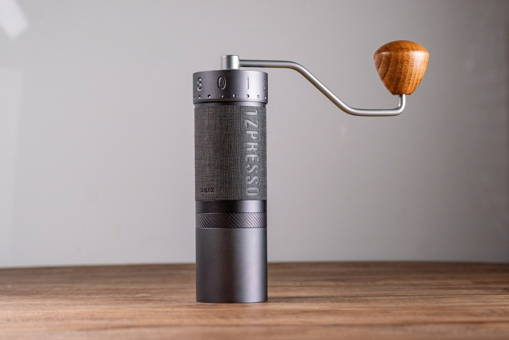 J-Max grinder standing on the table