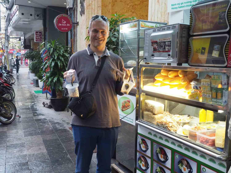 Breakfast in Hanoi