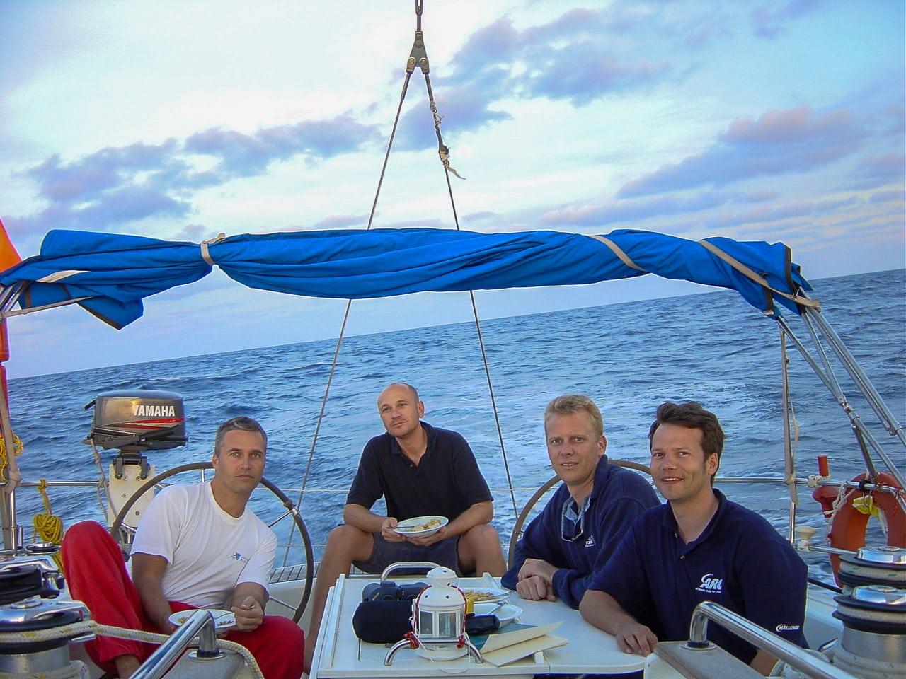 4 in einem Boot