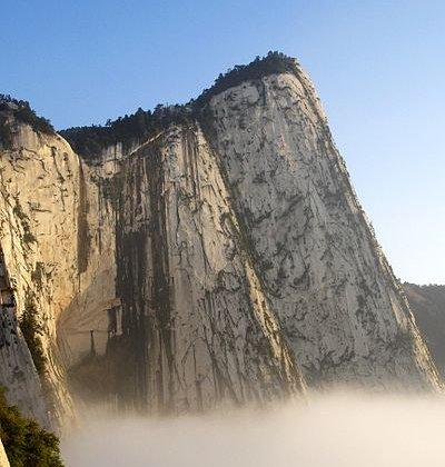 Monte Hua, Monte del Emperador, China