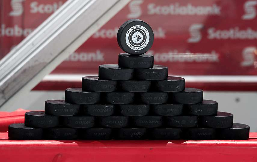 Image result for hockey puck pyramid