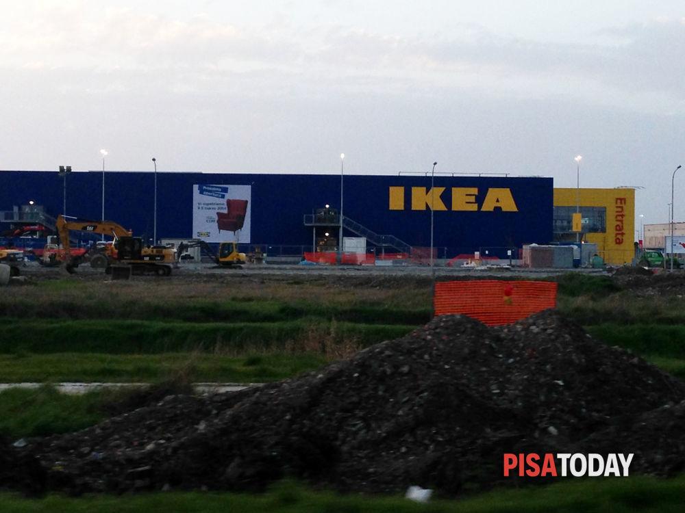 Apertura Ikea Pisa Pubblicità Sito