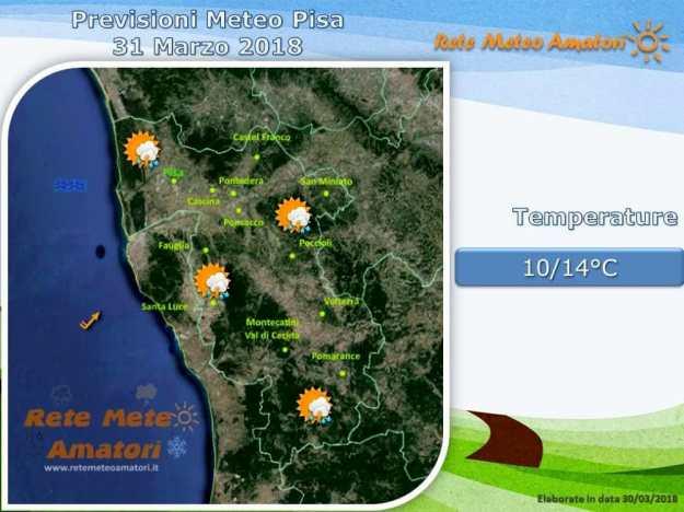 Previsioni meteo per le feste pasquali: dall'instabilità al sole