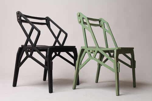 Stack and Frame Puzzle Furniture by Konstantin Achkov