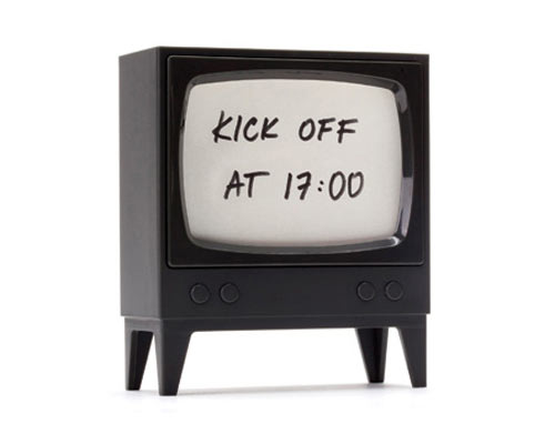 Retro Television Note Reminder by Amidov in style fashion home furnishings Category