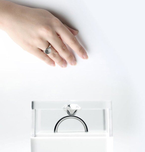 Invisible Love Ring by Sasha Tseng in style fashion Category