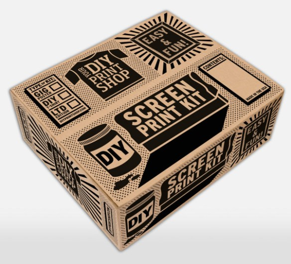 DIY Screen Printing Kits From DIY Print Shop
