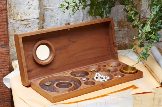 Handcrafted Jewelry Cases Rich in Tradition