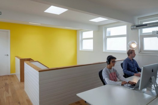 A 19th Century Church Becomes Offices in interior design architecture Category