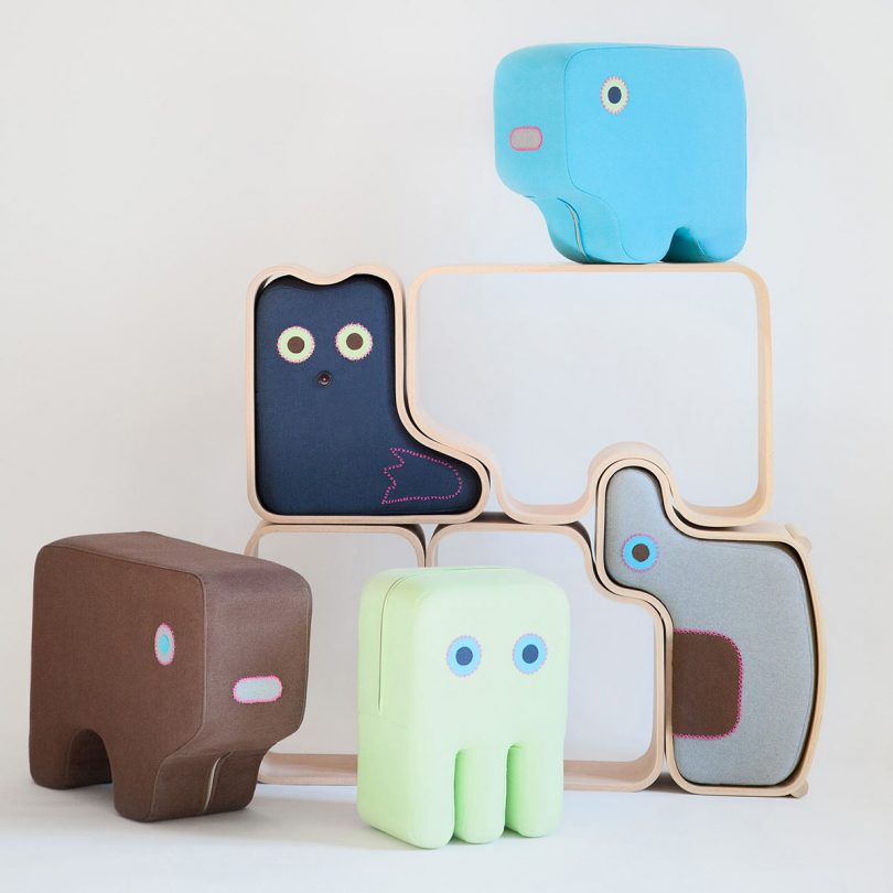 Animaze: Multifunctional Furniture that Encourages Kids to Play