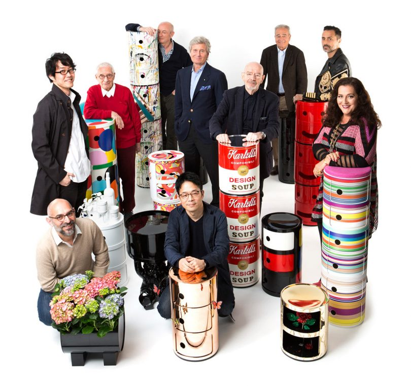 Kartell Celebrates the 50th Year of the Componibili