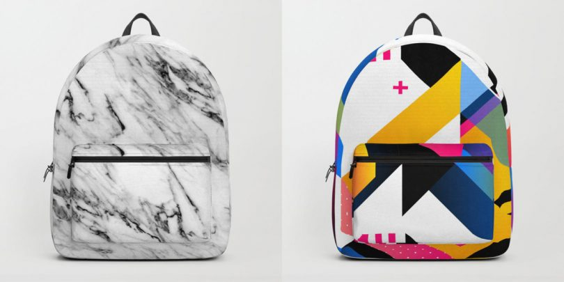Society6 Launches Backpacks!
