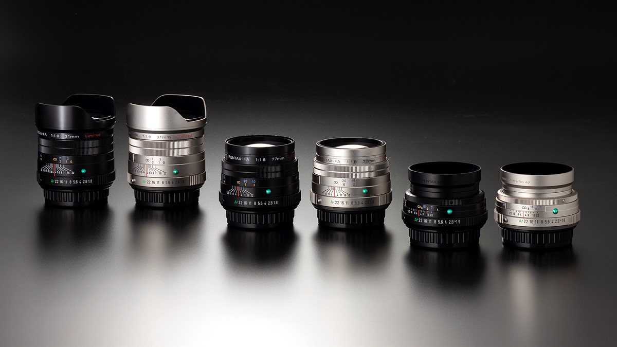 43mm f1 9 and 77mm f1 8 limited lenses