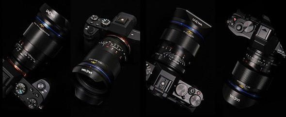 Laowa announces five new manual lenses: three full-frame, one APS-C and one MFT