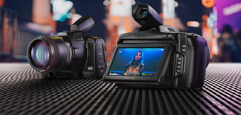 Blackmagic Design's new Pocket Cinema Camera 6K Pro is a Super 35 camera with tilting screen, built-in ND filters and more