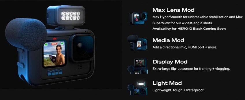 GoPro announces Hero10 Black with new chip, better performance and improved usability