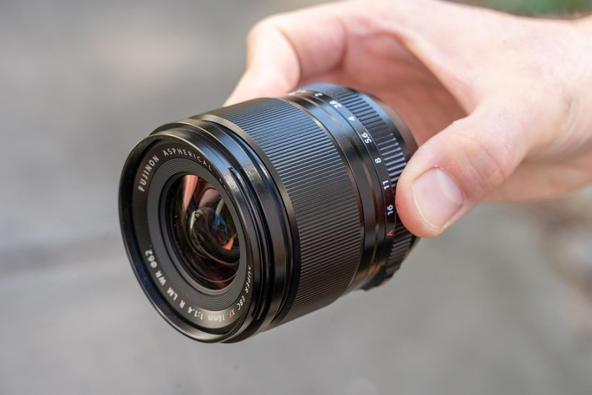 Hands-on with the Fujifilm XF 18mm F1.4 R LM WR
