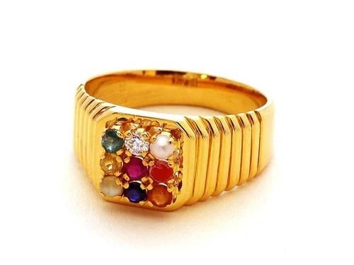 Navaratna Rings 9 Stones Rings Dev Diamonds Kannur
