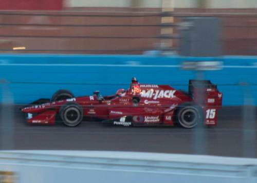 After a frustrating run in qualifying, Rahal raced his way to fifth at Phoenix.