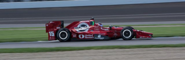 Graham Rahal would have started in P3 had his car not failed post-qualifying tech inspection