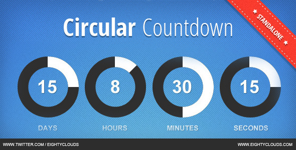 JBMarket Circular Countdown - CodeCanyon Item for Sale