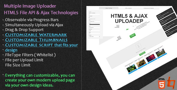 Pure Uploader - CodeCanyon Item for Sale