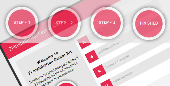 CSS3 Zi-Installation Center & Multi Purpose Kit
