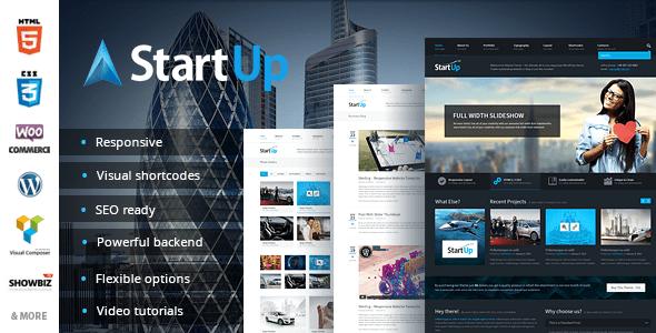 StartUp - Multi-Purpose Responsive Theme - Corporate WordPress