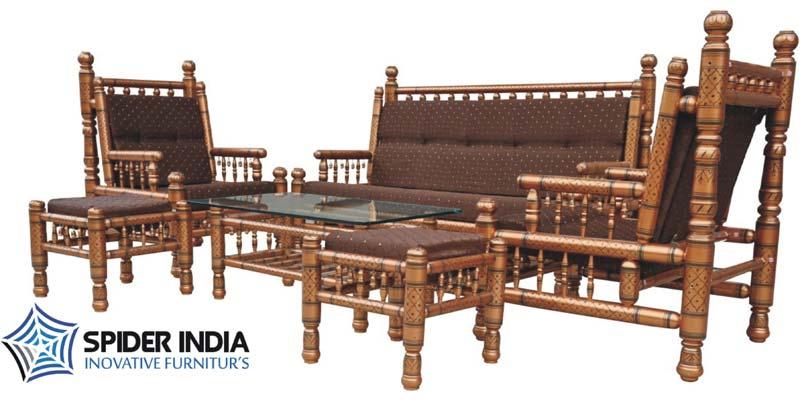 Teak Wood Carved Sofa Set Wooden Suppliers