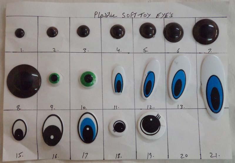 Soft Toys Eyes Accessories Manufacturer Supplier In Delhi