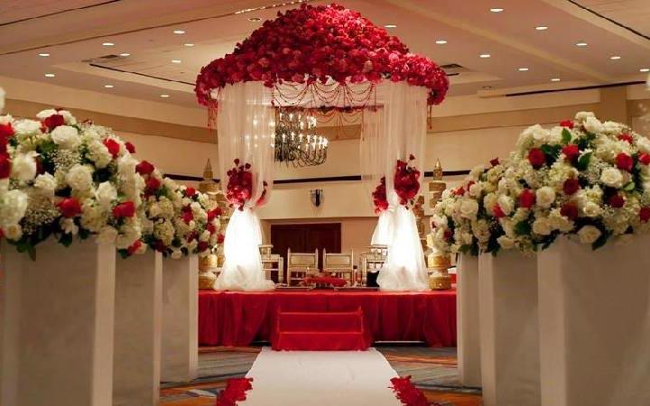 delhi wedding flower decoration
