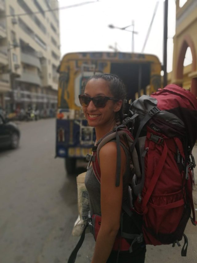 Ma soeur en mode backpackeuse à Dakar, Backpacking au Sénégal
