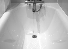 Changement rapide et facile de décorations de salle de bains
