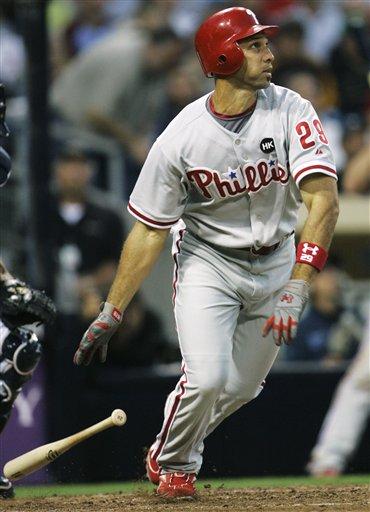 Phillies Padres Baseball