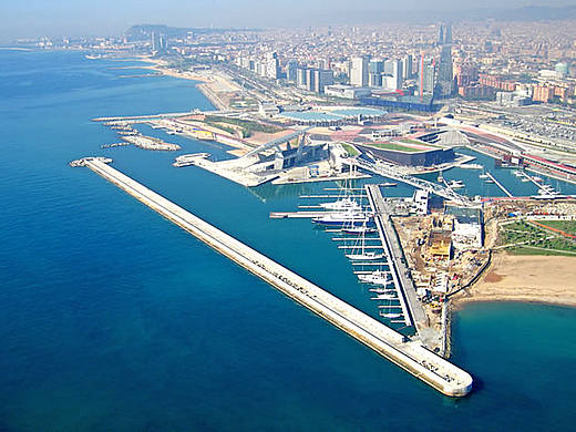 Resultado de imagen de barcelona port olimpic forum