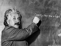 Charity tax law is hard