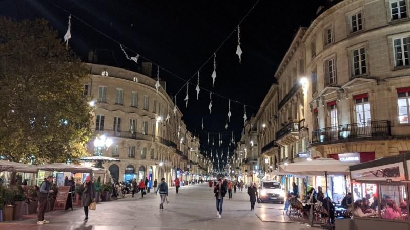 Bordeaux Self-guided Walking Itinerary- Cours de l'Intendance