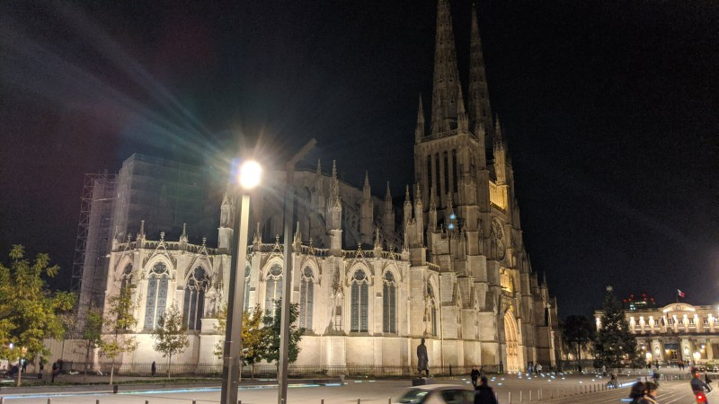 Bordeaux Self-guided Walking Itinerary- Bordeaux Cathedral, Place Pey Berland, 33000 Bordeaux