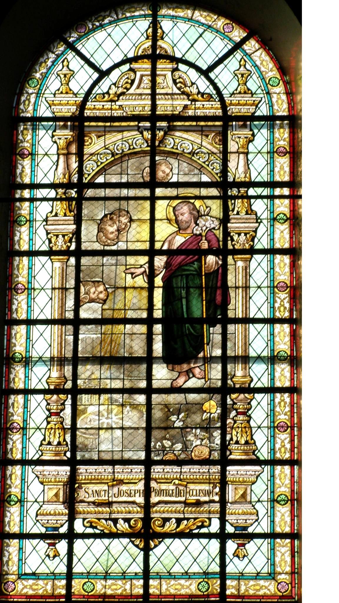 Brandglas Gbergen 10 – St Joseph