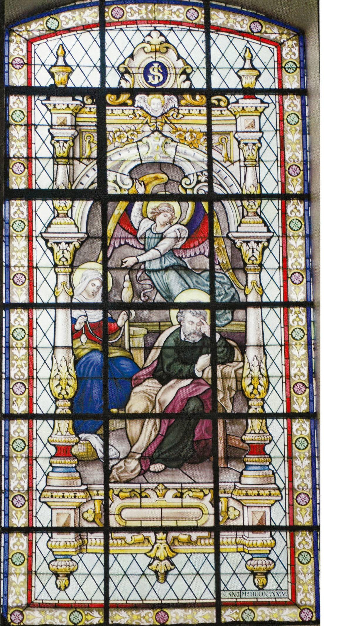 Brandglas Gbergen 2 – L_Ange à Joseph