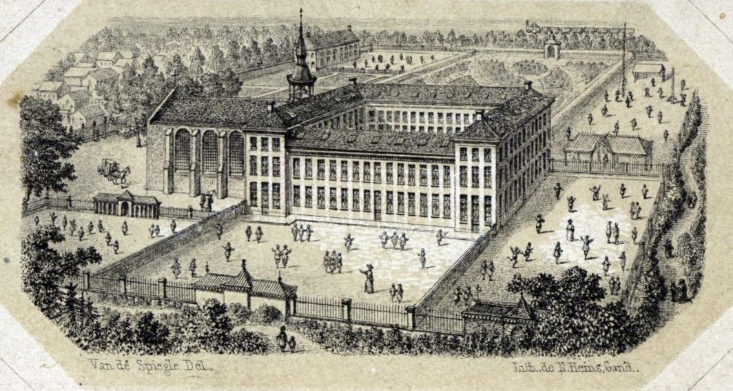 Karmelietenkerk+klooster1856