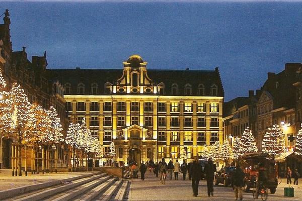 Leuven Kerst Ochtendduister