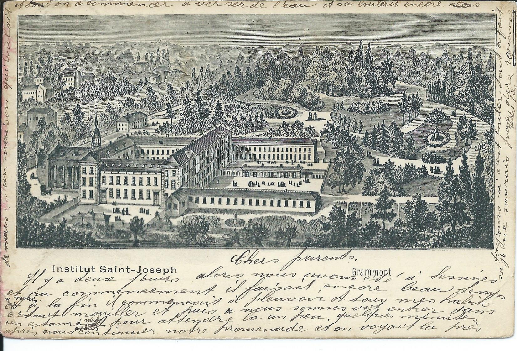 postkaarten St.-Jozef (1901-1904)0001